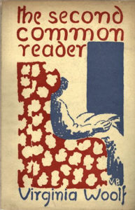 The Common Reader Second Series Virginia Woolf ViWoP