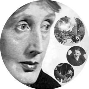 25 aprile | Virginia Woolf e l'origine del fascismo Hitler e Mussolini